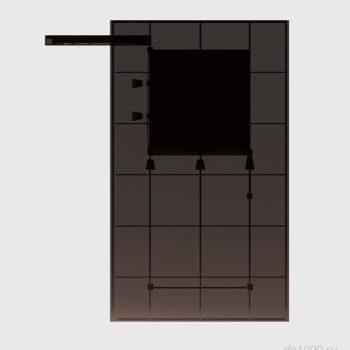 Здание КПП в плане