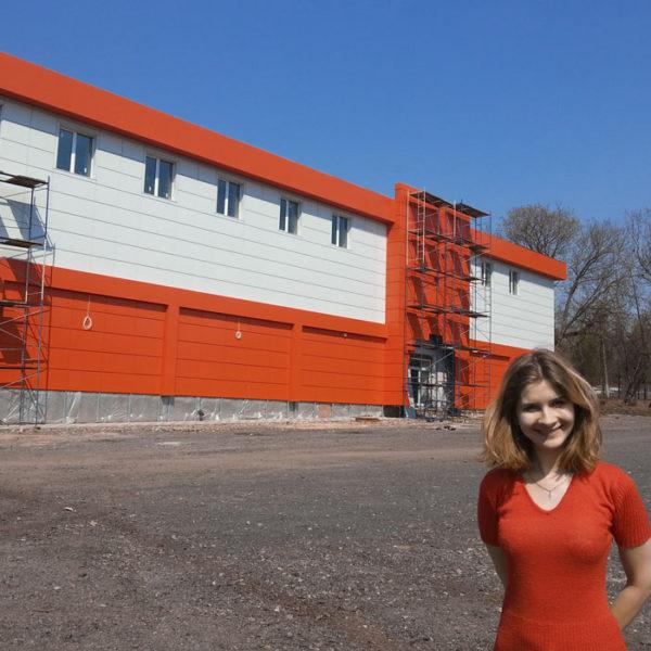 Автор проекта - Кучинова Марина на стройплощадке осуществляет авторский надзор