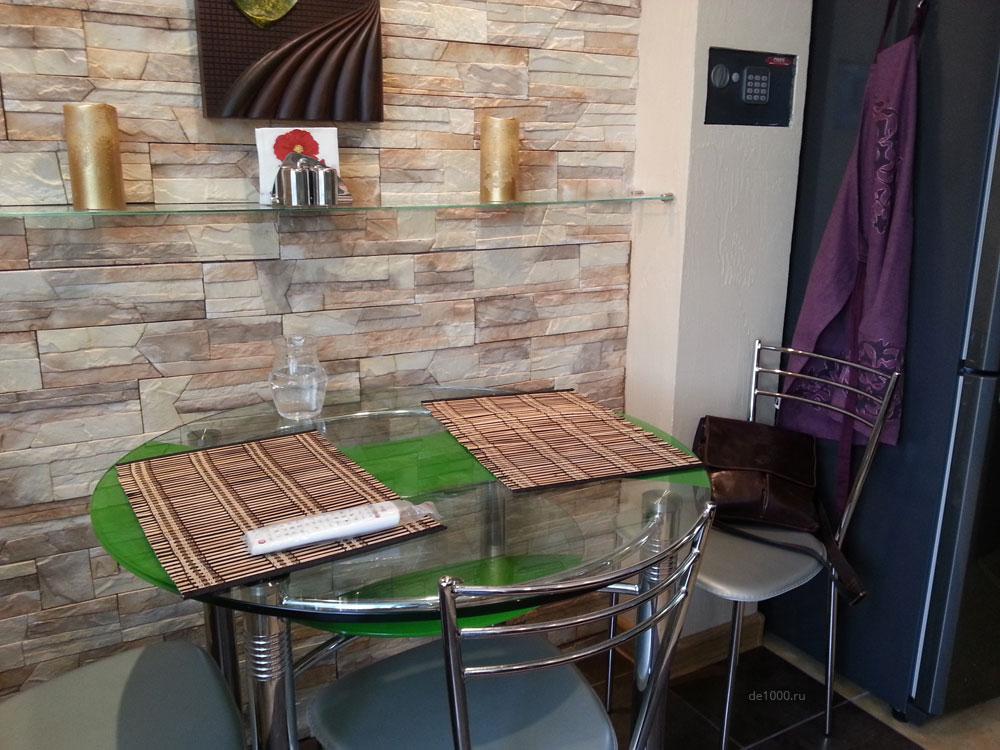 Кухня. Реализация дизайн-проекта. Столовая зона