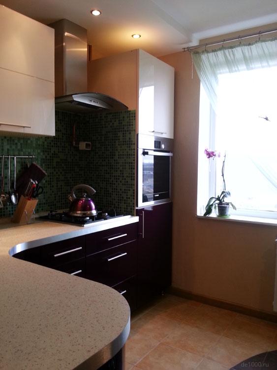 Кухня. Реализованный дизайн проект оформления интерьера