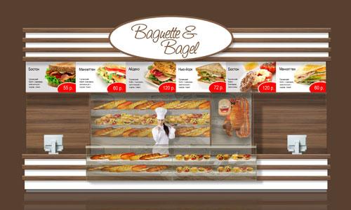 Food court или Ресторанный дворик, дизайн ресторанных павильонов