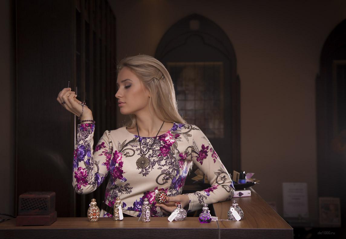 Фотосессия для магазина натуральной парфюмерии