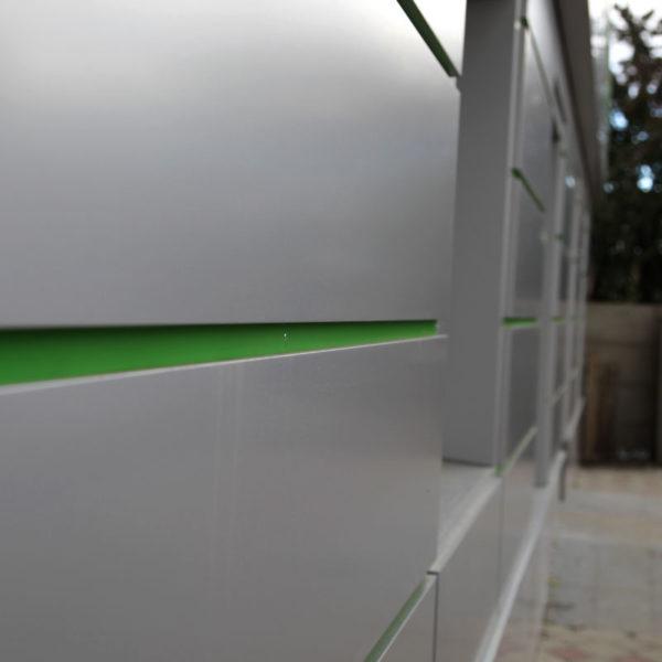 Композитные кассеты вентилируемого фасада