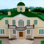 Архитектурный проект. Коттедж в Орловской области