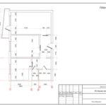 Обмерный план квартиры. Часть дизайн-проекта