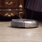 Пылесос-робот за уборкой интерьера
