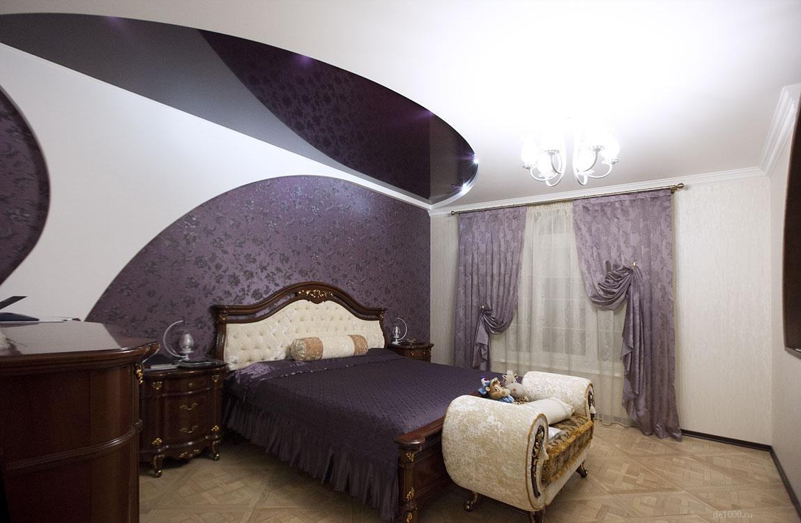 Спальня. Полностью реализованный проект интерьера