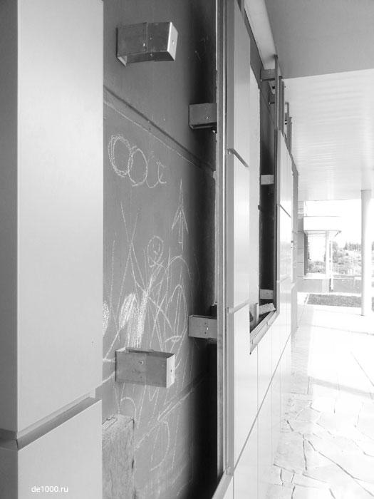 Монтаж вентилируемого фасада из композитного алюминия