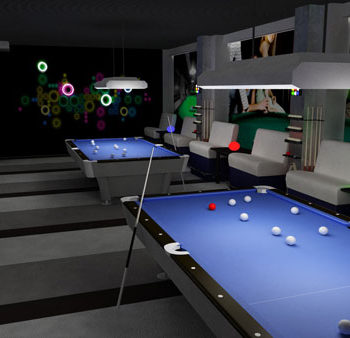 Дизайн проект интерьера ночного клуба Алькор
