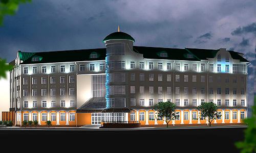 Проект освещения пенсионного фонда РФ в Орле