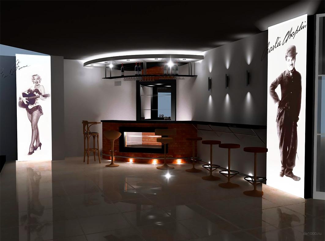 Дизайн интерьера кинотеатра