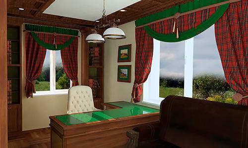 Дизайн интерьера частного дома в Орле