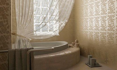 Дизайн интерьера ванной комнаты, спальни и кухни в Орле