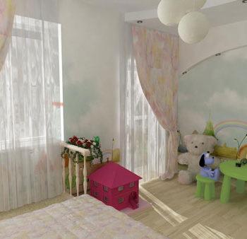 Детская комната, дизайн-проект