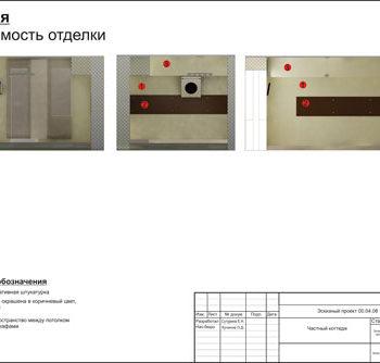 Дизайн интерьера загородного дома. Проект.