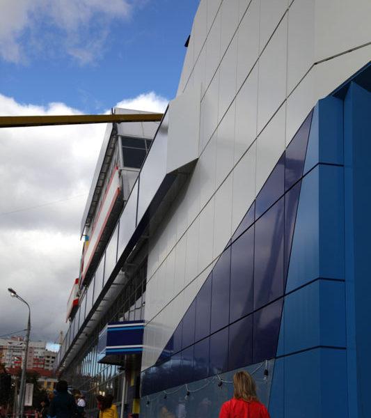 Кассеты вентилируемого фасада
