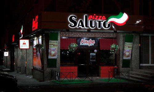 Первый ресторан сети Saluto в Орле, от нейминга до монтажа, рекламные ролики для ТВ и интернета от студии TRUE