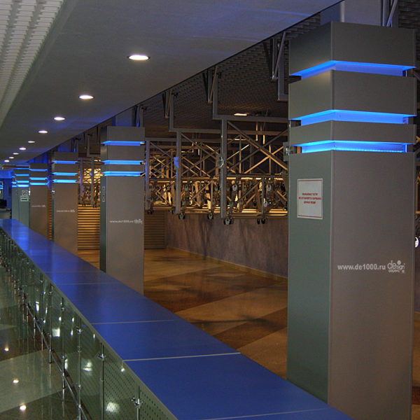 Дизайн интерьера фойе концертного зала и его реализация