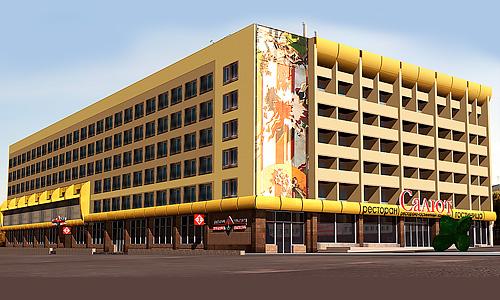 Проект реконструкции фасада гостиницы Салют в Орле
