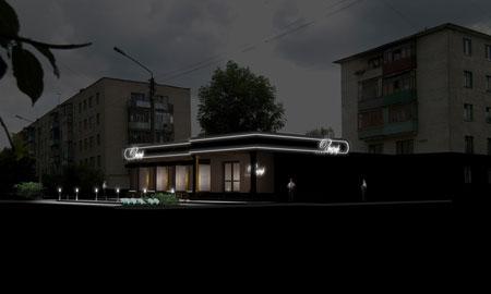 Ресторан Зефир. Дизайн-проект