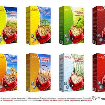 Дизайн упаковки для компании Лакоме.