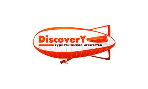 Дизайн логотипа и фирменный стиль для туристического агентства Discovery в Орле