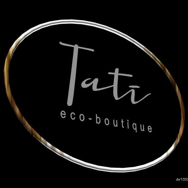 Логотип, фирменный стиль, дизайн упаковки. Тати Эко Бутик