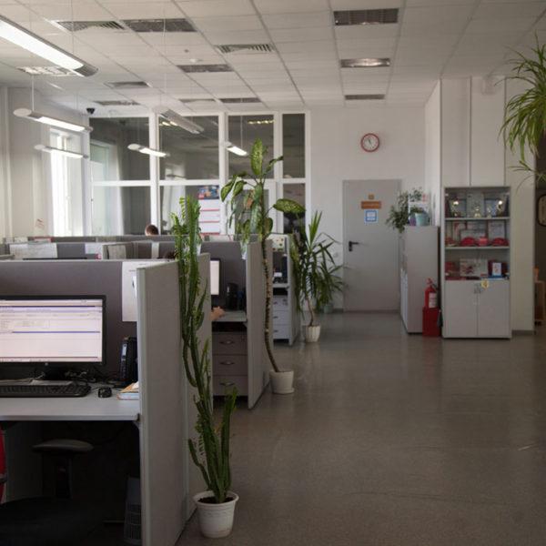 Вид офиса (фон для будущей картинки)