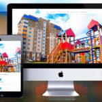 Веб-дизайн. Одностраничный сайт-лендинг под ключ для жилого комплекса в Орле