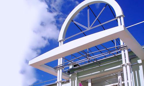Вывески, витрины, вентилируемые фасады для сети супермаркетов Джэм во Мценске, Орловской области