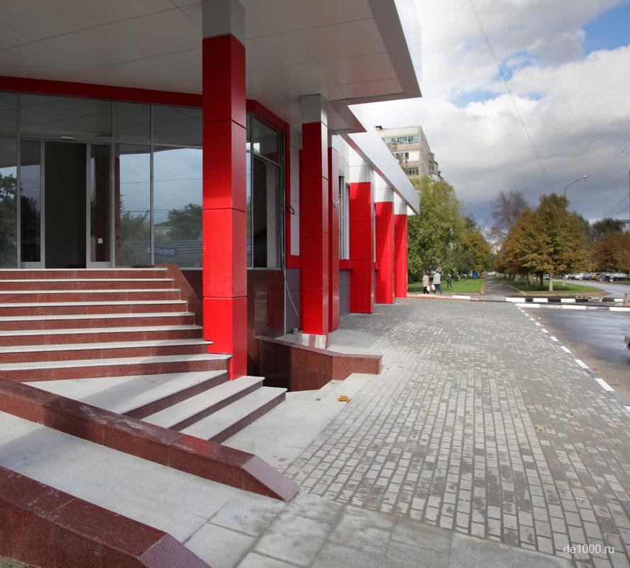 Вентилируемый фасад из композитного алюминия. Производство и монтаж под ключ.