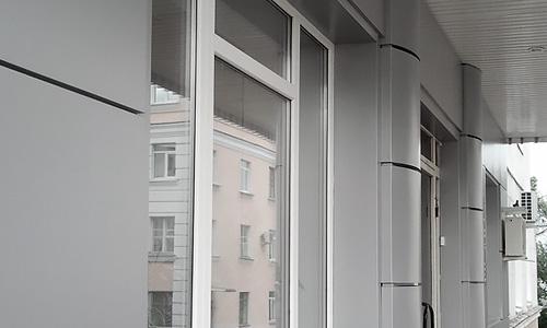 Управление Архитектуры и Градостроительства города Орла, фасад из композитного алюминия
