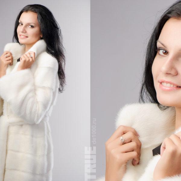 Рекламная фотосессия для мехового магазина Императрица