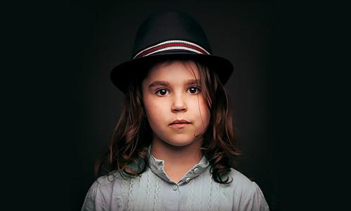 Портрет девочки. Фотостудия ТРУ, фотограф Артур Борода