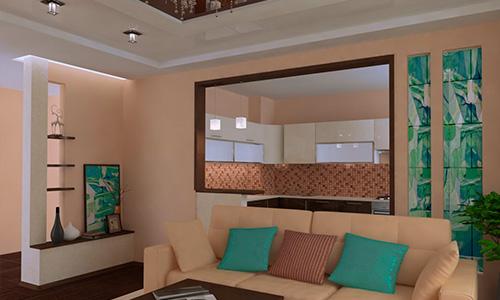 Дизайн интерьера квартиры в Орле, ул. Раздольная