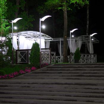 """""""Фуршетная"""" зона для парк-отеля Мечта в Орле. Проект и реализация."""