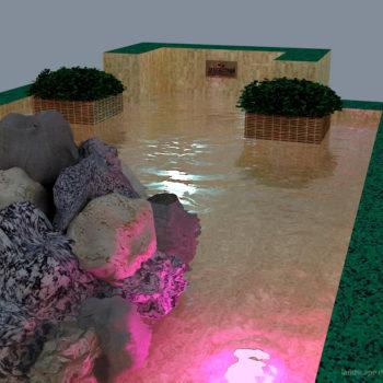 Проект фонтана в городском парке в Орле