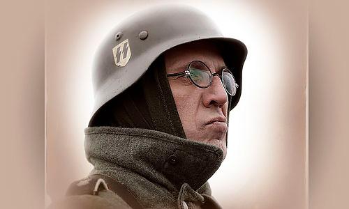 Война и немцы, фотосессия битва под Москвой, образы солдат Вермахта
