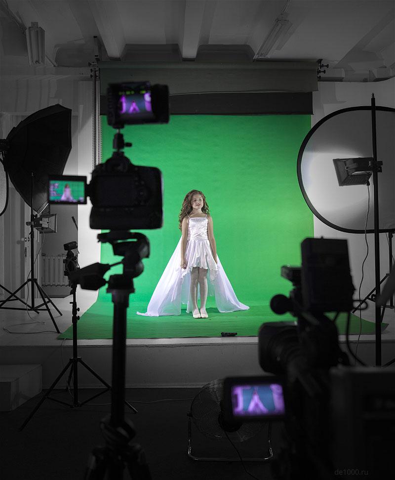 Видеостудия Demedia в работе