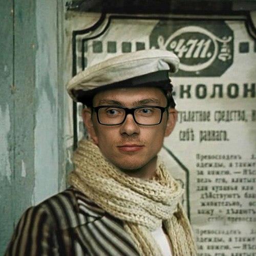 Великий комбинатор. Фотограф Артур Борода, модель Дмитрий Жумик