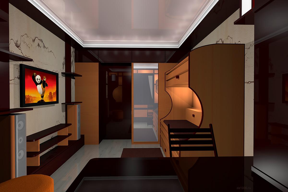 Перспектива комнаты