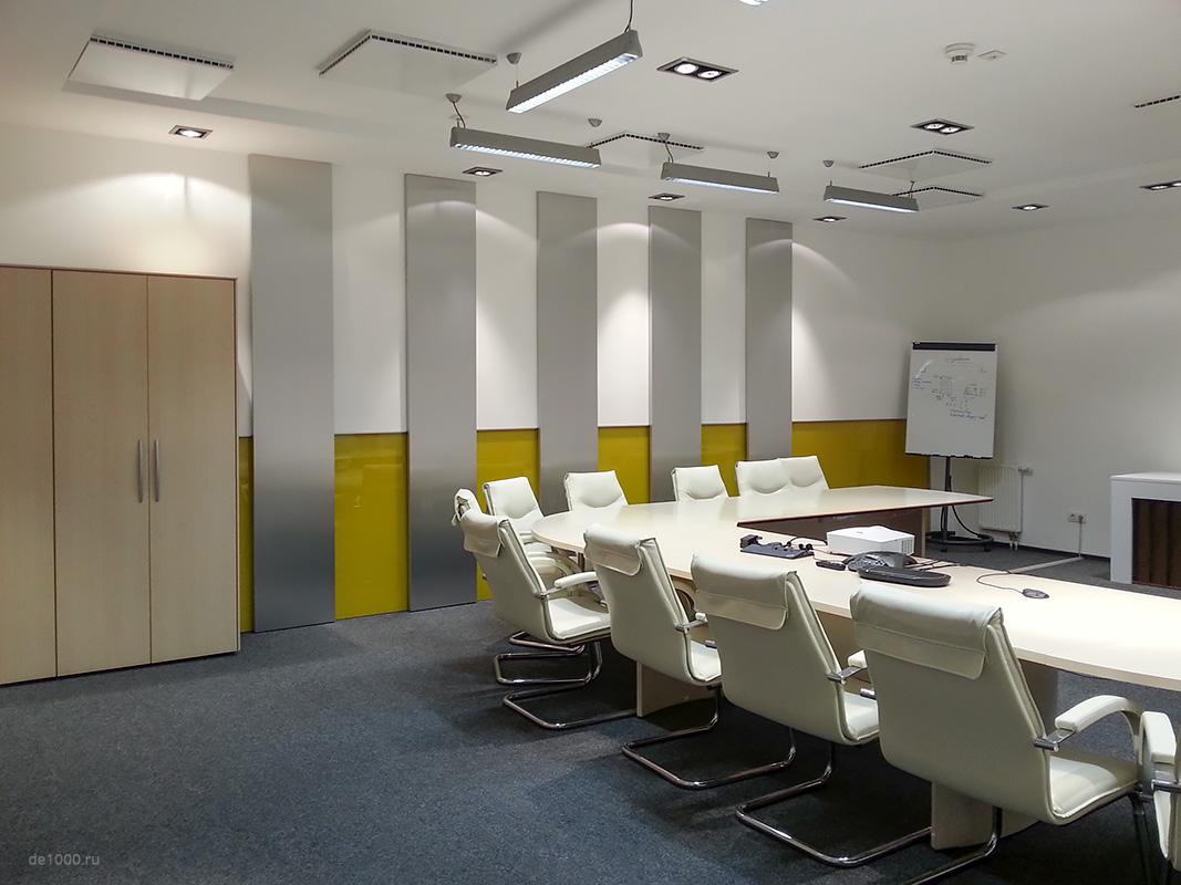 Sanofi. Конференц зал. Дизайн интерьера