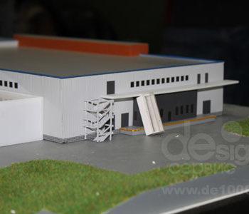 Макет здания Биотон Восток