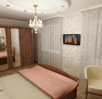 Дизайн проект квартиры. Трехмерная визуализация