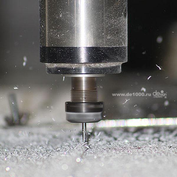 Фрезеровка алюминия в Орле. Производственный цех Дизайн-сервис