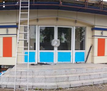 Трехмерная визуализация фасада Торгового Центра