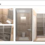 Санузел. 3Д визуализация. Часть дизайн-проекта