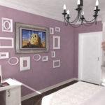 Спальня. Трехмерная визуализация. Часть дизайн-проекта