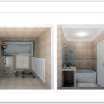 Ванная. Трехмерная визуализация
