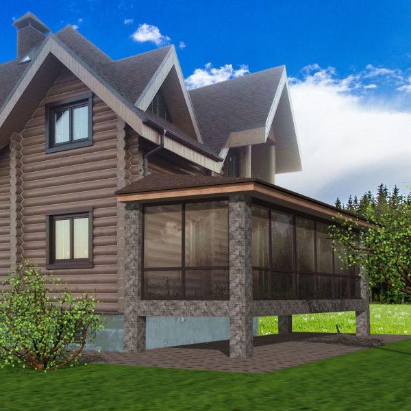 Дизайн проект. Благоустройство загородного дома